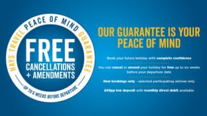 Peace of Mind guarantee graphic