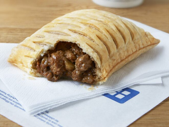 Greggs Steak Pie
