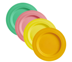 wilko 4 pack of picnic plates